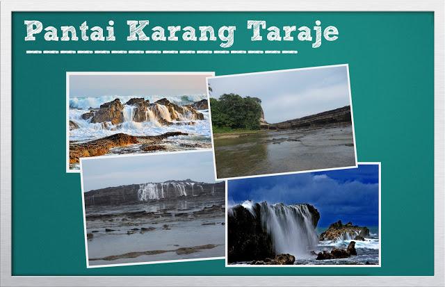 Pantai Karang Taraje Sawarna Indah