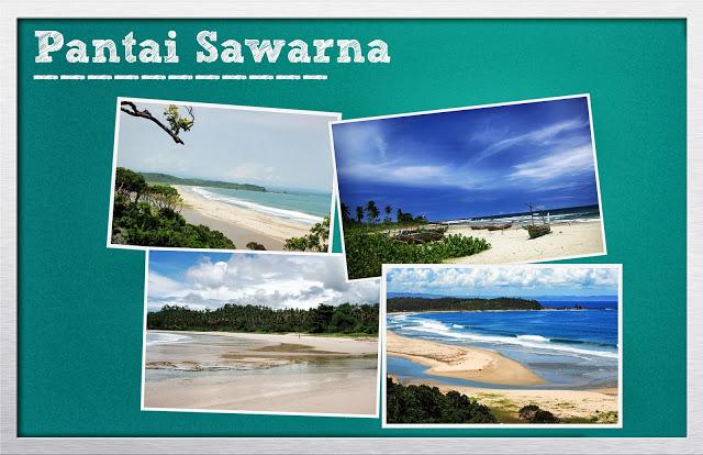 Keindahan Pantai Pasir Putih Sawarna