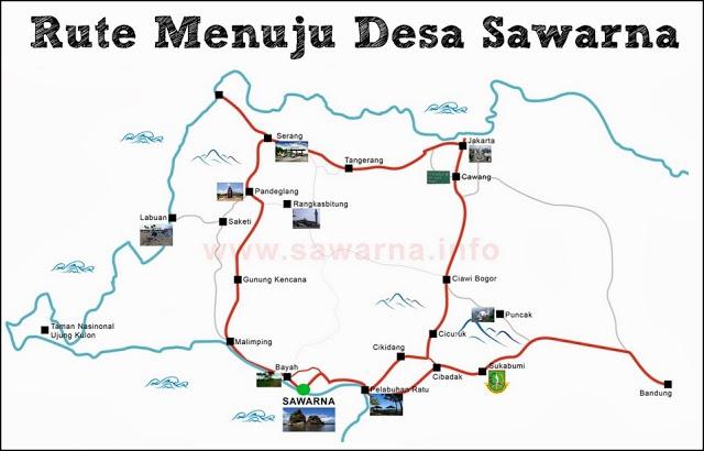 Rute Menuju Pantai Sawarna Banten