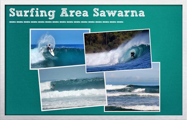 Tempat Surfing di Pantai Sawarna